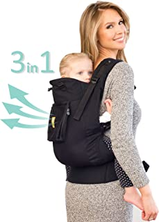 LÍLLÉbaby 3 in 1 CarryOn Toddler Carrier - Airflow, Black