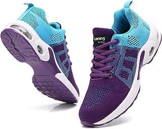 TSIODFO Women Sport Running Shoes Gym Jogging Walking...