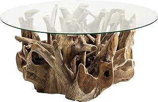SUPVOX Bougeoir en bois naturel en bois flott/é avec support pour bougie et tasse en verre