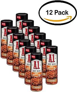 PACK OF 12 - A.1. Sweet Mesquite BBQ Dry Rub 4.5 oz. Shaker