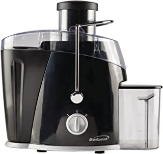 Brentwood Juice Extractor with Graduated Jar, 2-Speed 400w, Black