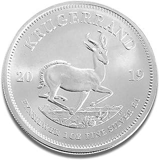 Moneda de plata con borde de 1 onza de monedas de plata Refinery Südafrica