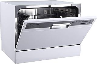 PKM GSP 600 - Lavavajillas pequeño (6 servicios), color plateado