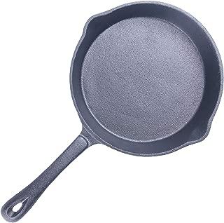 20Cm/25Cm Uncoated Cast Iron Omelette Frying Pan Skillet Long Handle Steak Pan Non-Stick Pancake Maker Cooking Pan Pot,20Cm