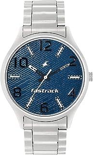 ساعة فاست تراك للرجال انالوج بعقارب ستانلس ستيل - 3184SM01