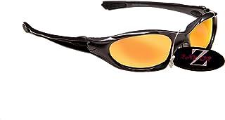 f98b9e1d2f Rayzor Profesional ligero UV400 Gun Metal Gris Deportes Wrap ciclismo Gafas  de sol, con un
