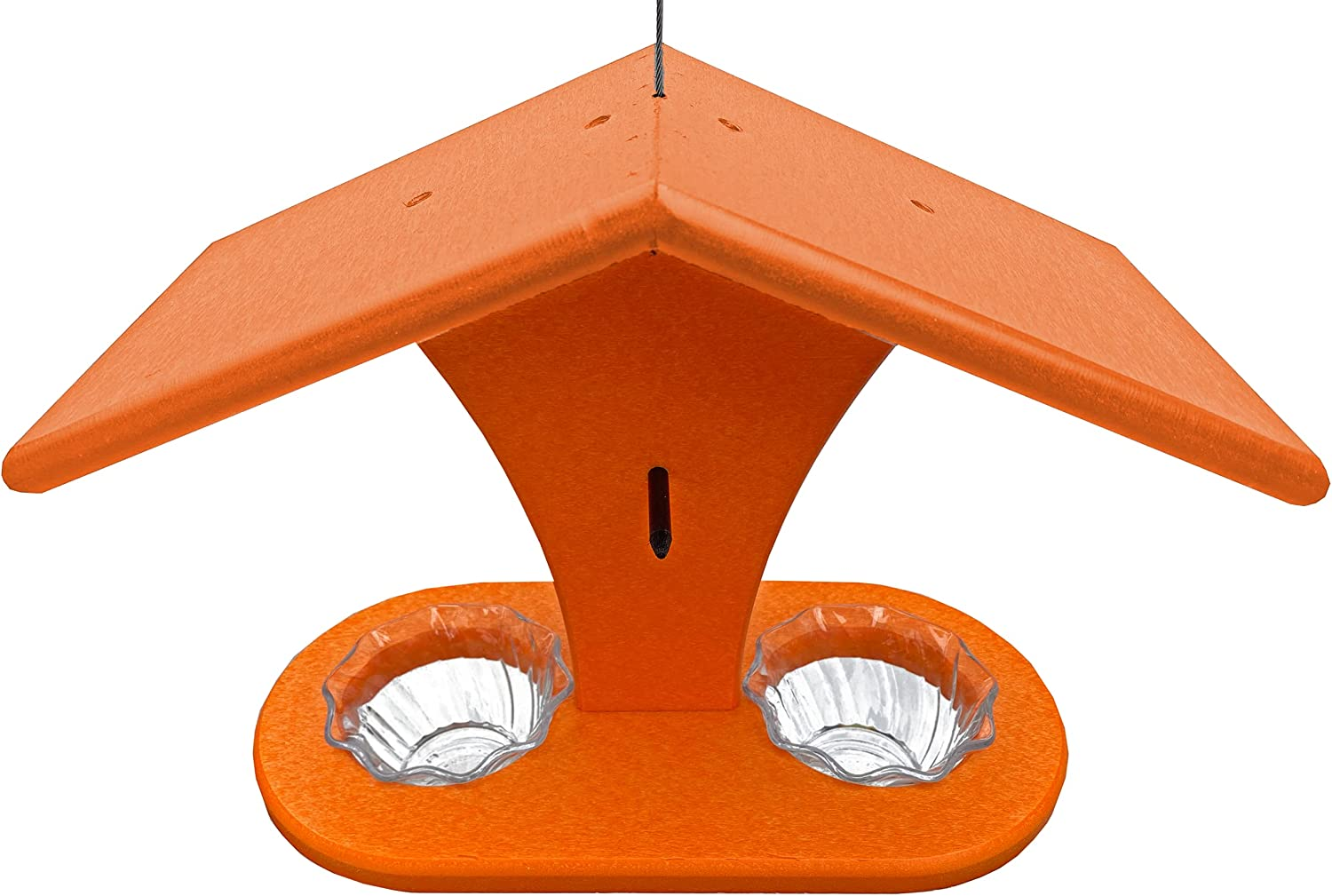 DutchCrafters Poly Weekly update Hanging Oriole Bird Orange Super beauty product restock quality top! 2 Slic Feeder with