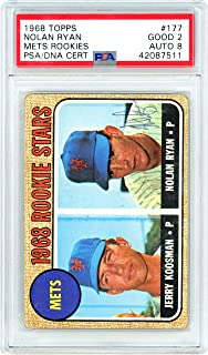 nolan ryan rookie card psa 8