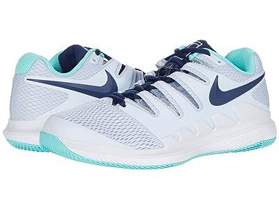 Nike Air Zoom Vapor X (Football Grey/Midnight Blue) Women