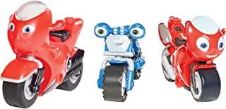 Tomy Ricky Zoom: Hank & the Bike Buddies 3 Pack – 3 & 4 inch Action Figures – Free-Wheeling, Free Standing Toy Bikes