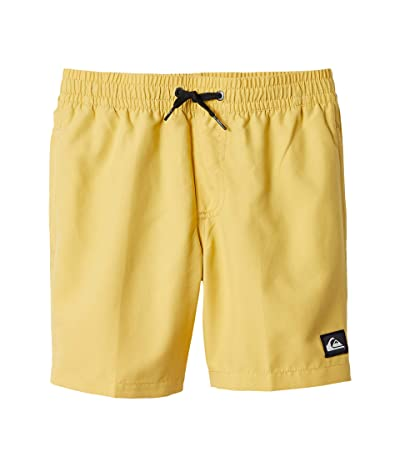 Quiksilver Kids Everyday Volley (Big Kids) (Misted Yellow) Boy
