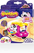 Hamsters in a House Food Frenzy