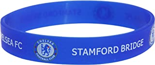 Chelsea FC Official Single Rubber Football Crest Wristband