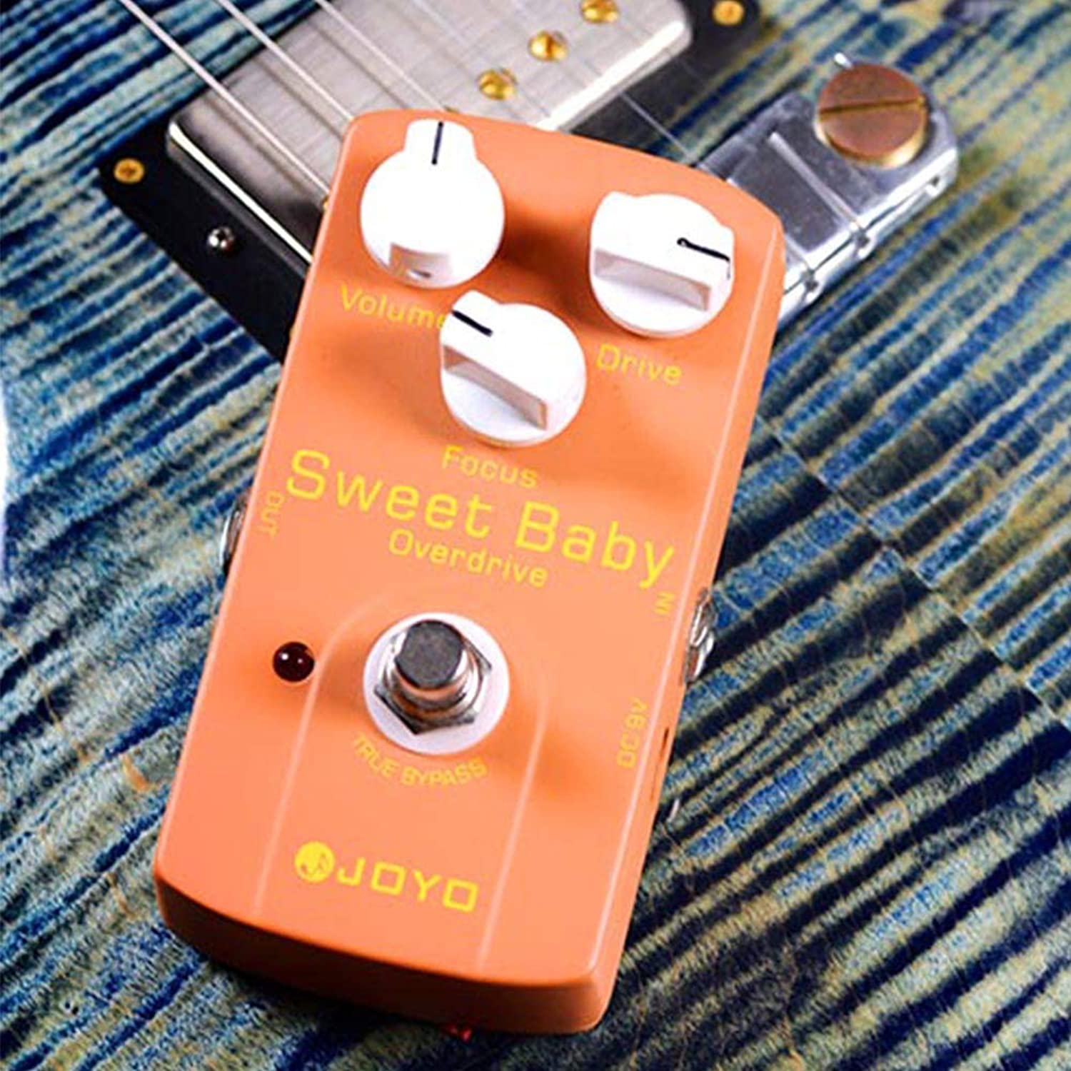 DSstyles JOYO JF-36 Sweet Baby Overload Electric Guitar Effect