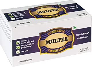 Multea Mulberry Leaf Herbal Tea for Weight Loss and Managing Blood Sugar Levels