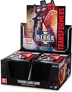 Transformers TCG: War for Cybertron - Siege Booster Display