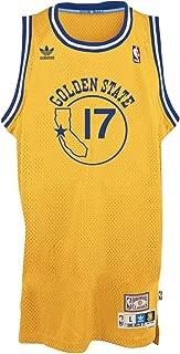 adidas Chris Mullin Golden State Warriors Gold Throwback Swingman Jersey