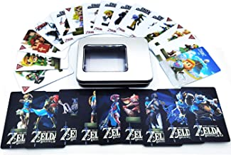 24Pcs The Legend of Zelda Breath of The Wild NFC Cards, [Newest Version] Compatible with Switch/Lite Wii U - with Iron Box...