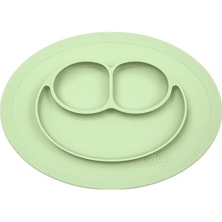 Edute エデュテ プレゼント ezpz(イージーピージー) ベビー食器 ミニマット ひっくり返らない [ミント] シリコン ぴったり吸着 (吸盤 離乳食 食器) 子供 室内 おうち遊び おうち時間