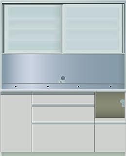パモウナ 食器棚IE シルキーアッシュ 幅160×高さ198×奥行45 日本製 IER-S1600R