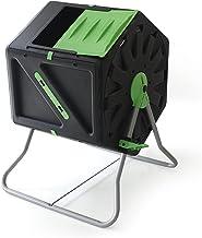 PALMAT® Professionele Compostmolen – Composter - XL Molen – Tuin en Huisafval - 105 Liter – Groen/Geel
