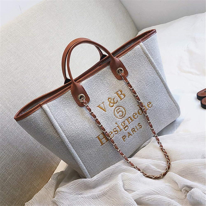 Lidoudou Tasche weibliche Mode wild Umhängetasche Größe (Höhe 21 21 21 cm, Breite 35 cm) Material Baumwolle und Leinen B07NYJ8VGV  Berühmter Laden df2444