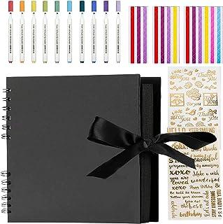 NACTECH 16pcs Kit Scrapbooking Enfant Autocollant Scrapbooking Album Photo pour Journal/Carte/DIY/Planificateur