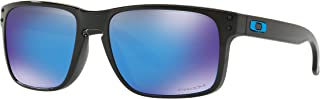 Holbrook Sunglasses Polished Black with Prizm Sapphire Iridium Lens + Sticker