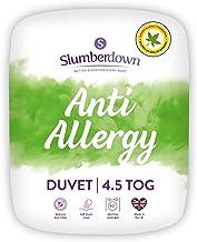 Slumberdown Allergie-dekbed, microvezel microvezel, wit, eenpersoonsbed