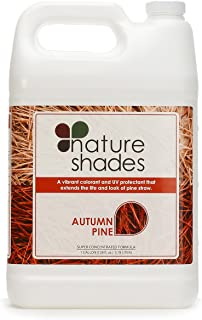 Nature Shades 1 Gallon Pine Straw Colorant Southern Pine Autumn Pine Pigment Dye (Autumn Pine)