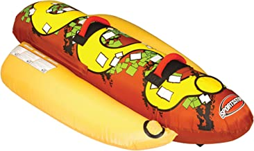 Sportsstuff Hot Dog 2   1-2 Rider Towable Tube for Boating