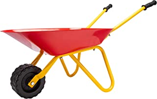 PlaSmart Little Workers Wheelbarrow Outdoor Construction Toy (Ages 3 and up)