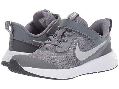 Nike Kids Revolution 5 (Little Kid) (Cool Grey/Pure Platinum/Dark Grey) Boys Shoes