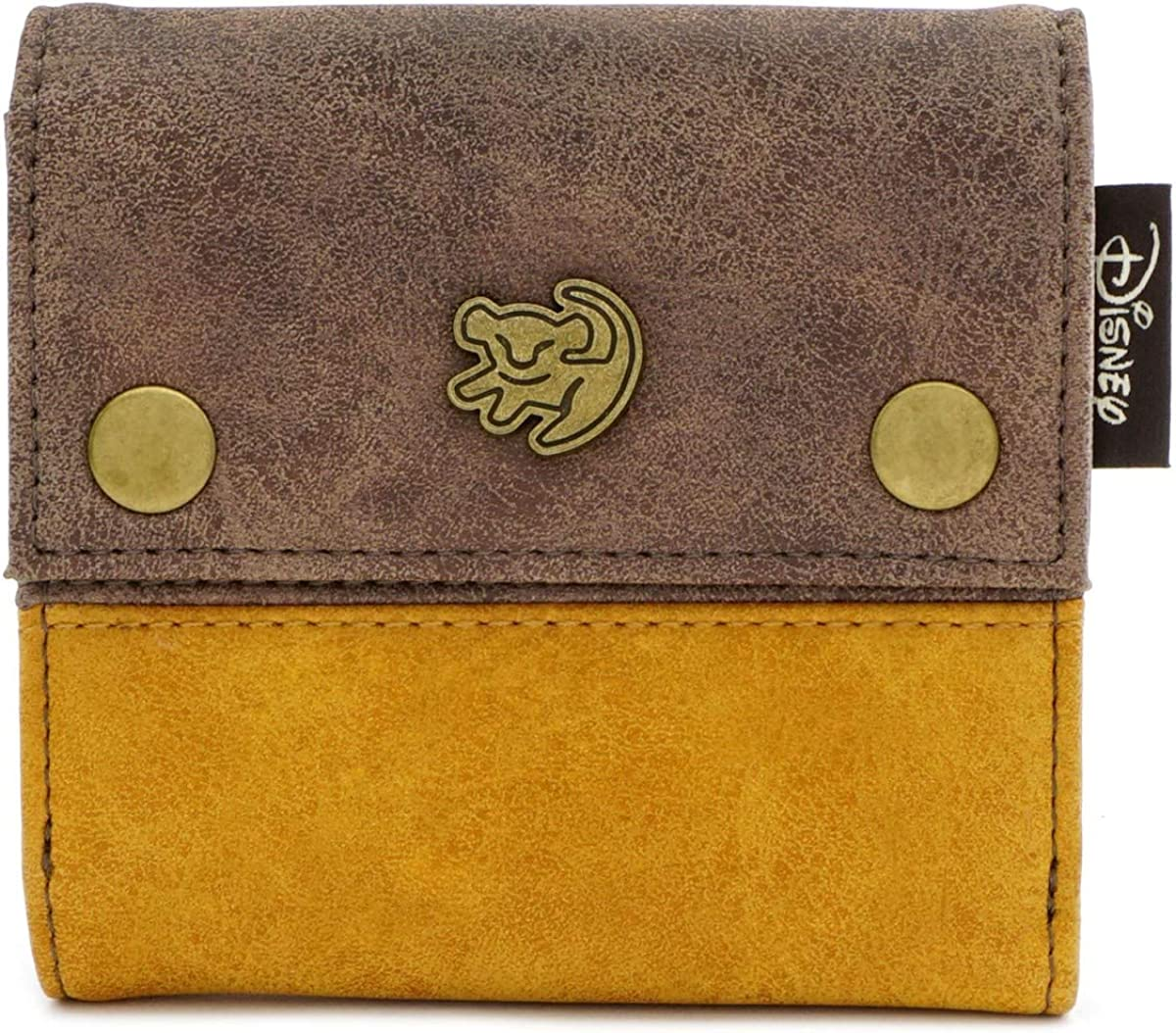 Loungefly x The Lion King Tribal Patterned Snap Trifold Wallet
