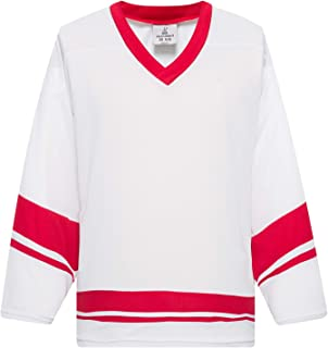EALER H400 Series Blank Ice Hockey Practice Jersey League Jersey for Men and Boys - Senior and Junior - Adult and Youth