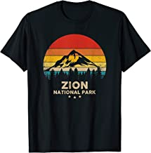 Vintage Zion - National Park Retro Souvenir T-Shirt