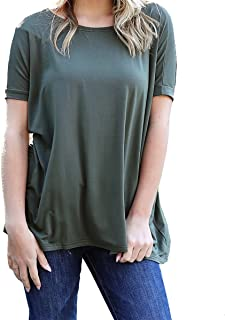 Piko Women's Short Sleeve Top-Army-small