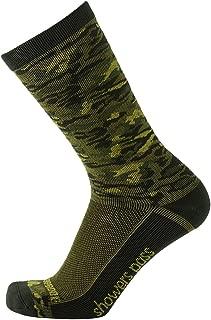 100% Waterproof Lightweight Breathable Multisport Unisex Socks - Crosspoint Camo
