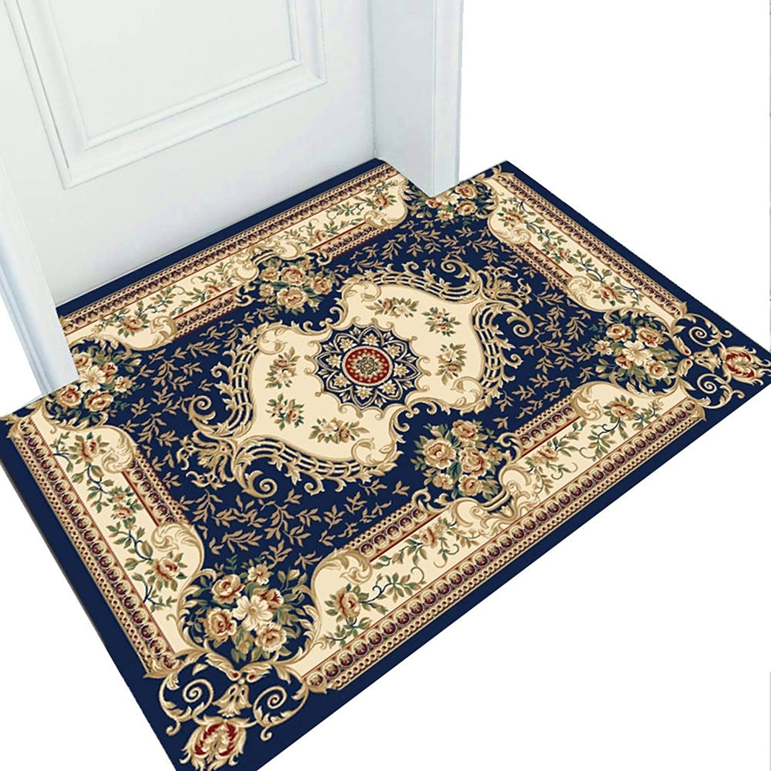 JIAJUAN Front Doormat Non-Slip Dirt Trapper Welcome Mat Indoor Outdoor Rug for Home, Nordic Style (color   A, Size   80X160cm)