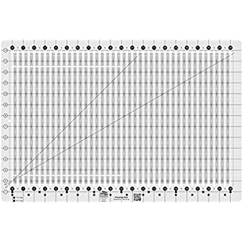Creative Grids Stripology Slotted Quilting Ruler Template CGRGE1