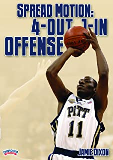 Jamie Dixon: Spread Motion: 4-Out, 1-In Offense (DVD)