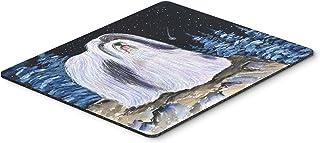 Caroline's Treasures SS8450MP Starry Night Havanese Mouse Pad/Hot Pad/Trivet, Large, Multicolor