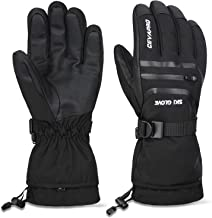 Cevapro -40℉ Waterproof Ski Gloves, Winter Gloves Men Women for Snowboarding