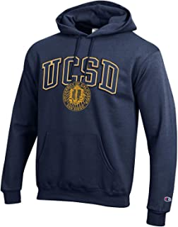 Champion UC San Diego Men's Hoodie Sweatshirt-Navy