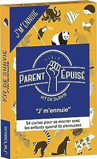 Asmodee PEAPE01FR Jaune Kit de Survie Ap/éro Parent Epuis/é