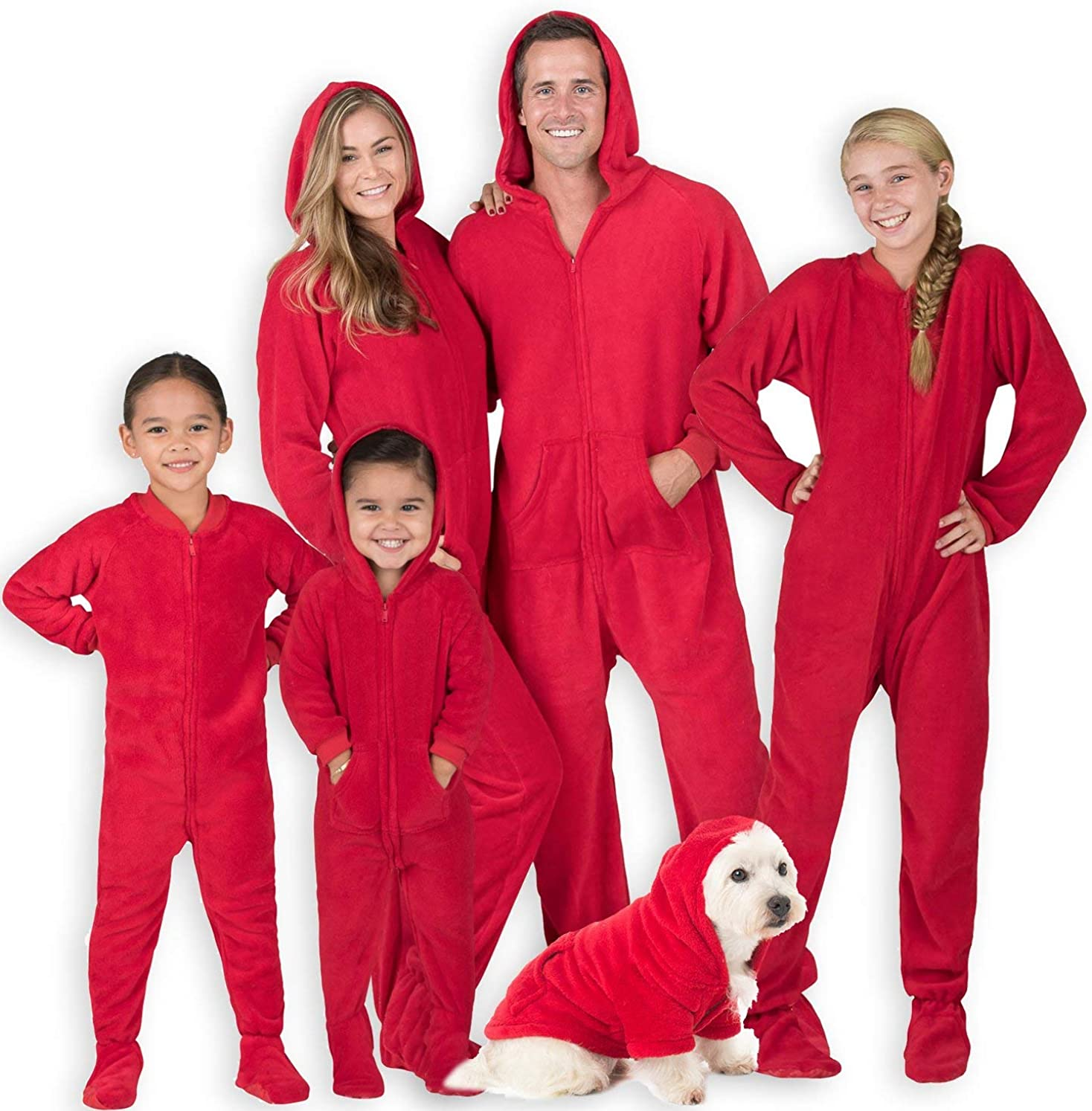 Footed Pajamas - Family Matching One Limited time trial price P Chenille Onesies Los Angeles Mall Hoodie