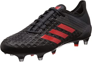 adidas Performance Mens Predator Malice Control Soft Ground Rugby Boots - Black