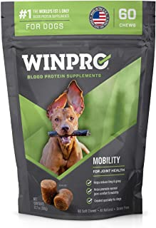 WINPRO Mobility All-Natural Blood Protein Soft Chew Supplement for Healthy Hips and Joints