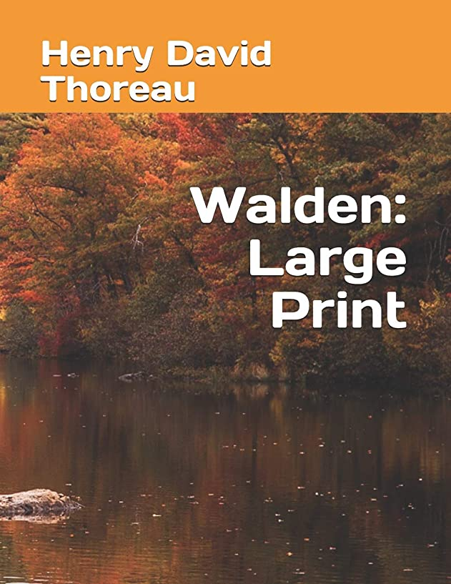 財団受取人ダムWalden: Large Print