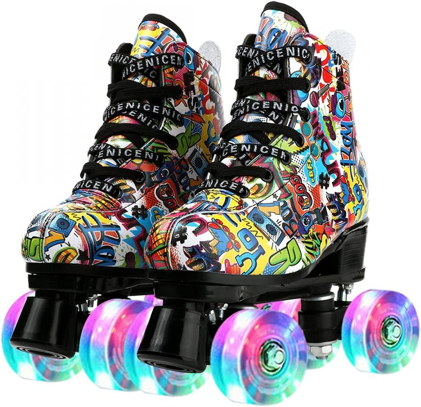 70% OFF Outlet Roller Skates Superior Outdoor Speed P Cozy Stylish Leopard